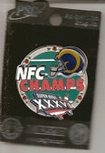 St. Louis Rams 2002 NFC Champions Pin