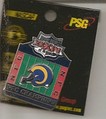 St. Louis Rams 2000 NFC Champions Pin