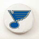 St. Louis Blues White Tire Cover, Large