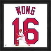 St Louis Cardinals Kolten Wong 20x20 Framed Uniframe Jersey Photo