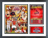 St Louis Cardinals 2006 Cardinals World Series Champs Milestones & Memories Framed Photo