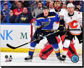 St Louis Blues T.J. Oshie 2014-15 Action 40x50 Stretched Canvas AARL087-252
