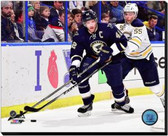 St Louis Blues David Backes 2014-15 Action 20x24 Stretched Canvas AARL055-249