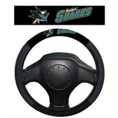 San Jose Sharks Poly-Suede Steering Wheel Cover