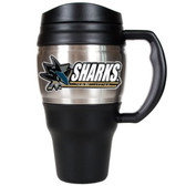 San Jose Sharks 20oz Travel Mug