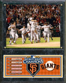 San Francisco Giants 2010 World Series Champions Team Celebration Plaque