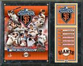San Francisco Giants 2010 World Series Champions Composite Plaque