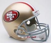 San Francisco 49ers Riddell Full Size Deluxe Replica Football Helmet