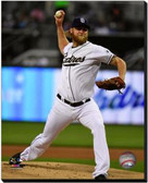 San Diego Padres Andrew Cashner 2013 Action 16x20 Stretched Canvas