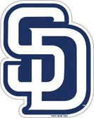 "San Diego Padres 12"" Vinyl Magnet Set of 2"