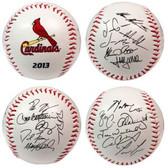 Saint Louis Cardinals 2013 Team Roster Signature Ball