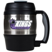 Sacramento Kings 52oz. Stainless Steel Macho Travel Mug with Bottle Opener