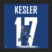 Ryan Kesler Vancouver Canucks 20x20 Framed Uniframe Jersey Photo