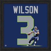 Russell Wilson Seattle Seahawks 20 x 20 Framed Uniframe Jersey Photo