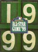 Red Sox 1999 MLB All Star Game Program