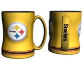 Pittsburgh Steelers Coffee Mug - 15oz Sculpted, Yellow