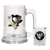 Pittsburgh Penguins Shot Glass and Mug Set