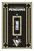 Pittsburgh Penguins Art Glass Switch Cover
