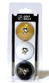 Pittsburgh Penguins 3 Pack of Golf Balls