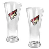 Phoenix Coyotes Oval Pilsner Glass Set