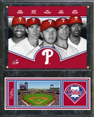 Philadelphia Phillies 2013 Team Composite Plaque