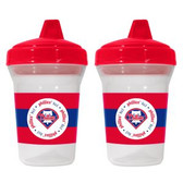 Philadelphia Phillies 2-Pack Sippy Cups