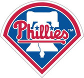 "Philadelphia Phillies 12"" Vinyl Magnet Set of 2"