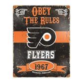 Philadelphia Flyers Vintage Metal Sign