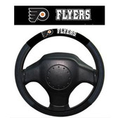 Philadelphia Flyers Poly-Suede Steering Wheel Cover