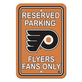 Philadelphia Flyers Parking Sign