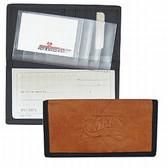 Philadelphia 76ers Leather/Nylon Embossed Checkbook Cover