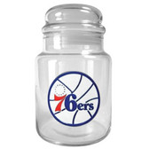 Philadelphia 76ers 31oz Glass Candy Jar