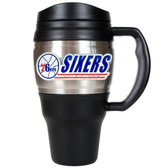 Philadelphia 76ers 20oz Travel Mug