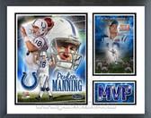Peyton Manning '06 Indianapolis Colts Super Bowl XLI Milestones & Memories Framed Photo