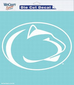 """Penn State Nittany Lions 8""""x8"""" Die-Cut Decal"""