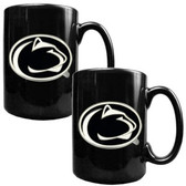 Penn State Nittany Lions 2pc Coffee Mug Set