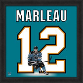 Patrick Marleau San Jose Sharks 20x20 Framed Uniframe Jersey Photo