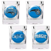 Orlando Magic 4pc Square Shot Glass Set