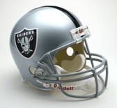 Oakland Raiders Riddell Full Size Deluxe Replica Football Helmet