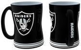 Oakland Raiders Coffee Mug - 15oz Sculpted