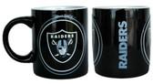 Oakland Raiders Coffee Mug - 14oz Sculpted Warm Up