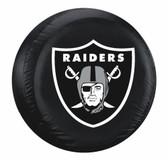 Oakland Raiders Black Tire Cover