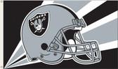 Oakland Raiders 3 Ft. x 5 Ft. Flag w/Grommets