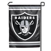"Oakland Raiders 11""x15"" Garden Flag"
