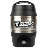 Oakland Raiders 1 Gallon Tailgate Keg