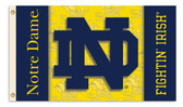Notre Dame 2-Sided 3 Ft. x 5 Ft. Flag w/Grommets