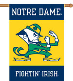 "Notre Dame 2-Sided 28"" x 40"" Banner w/ Pole Sleeve 96136"