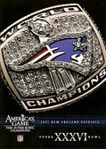 NFL Americas Game: New England Patriots Super Bowl XXXVI DVD