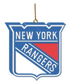New York Rangers 3D Logo Ornament