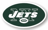 "New York Jets 12"" Logo Car Magnet"